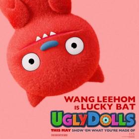 Wang Leehom Is Lucky Bat UglyDolls