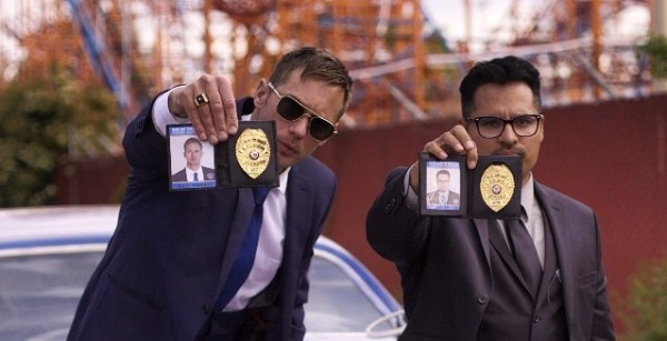 War on Everyone Movie - Alexander Skarsgard and Michael Pena