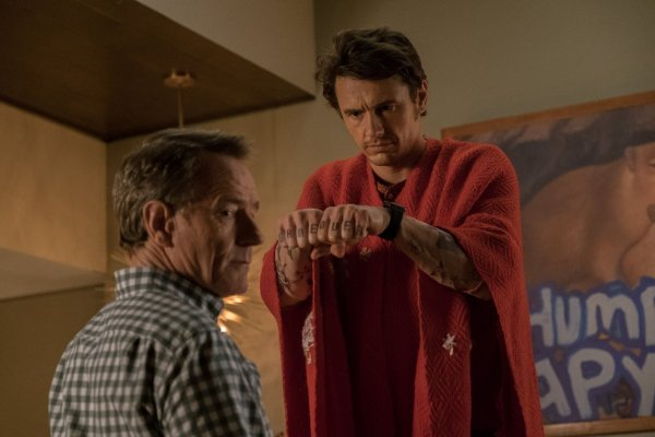 Why Him Movie - Bryan Cranston And James Franco