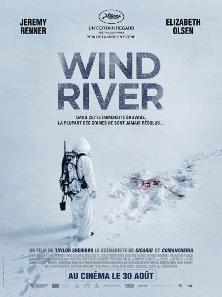 Wind River French Poster