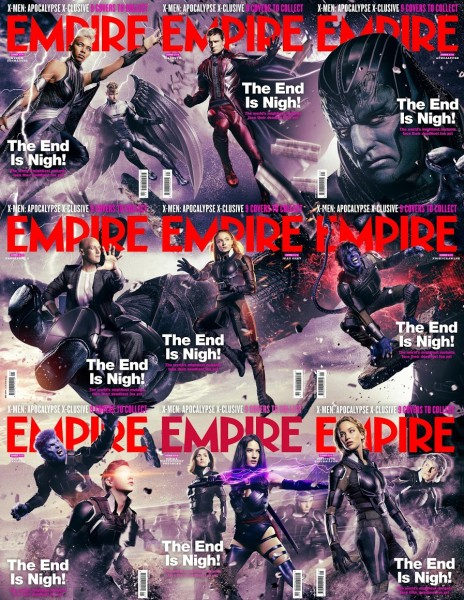 X-Men Apocalypse Empire Covers