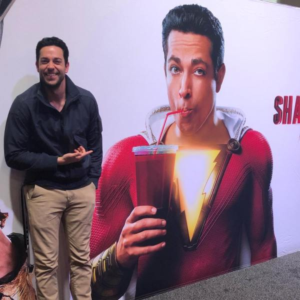Zachary Levi - Shazam Movie