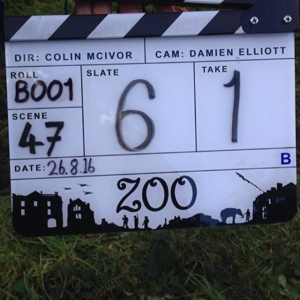 Zoo Movie - Film Clapperboard