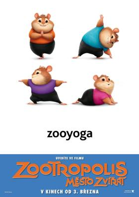 Zootopia intl character poster (4)