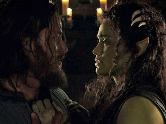 Lothar and Garona - Warcraft the romantic movie