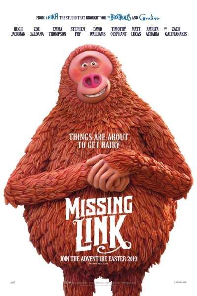 Missing Link UK Poster