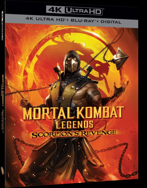 Mortal Kombat Legends Scorpion's Revenge Poster