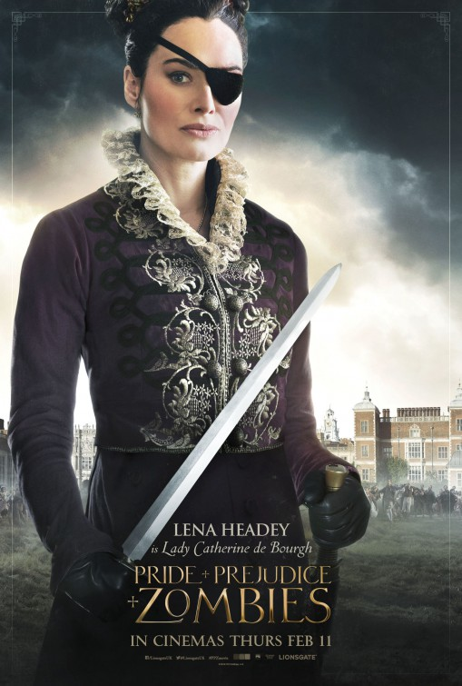 Pride and Prejudice and Zombies DVD Release Date | Redbox, Netflix ...