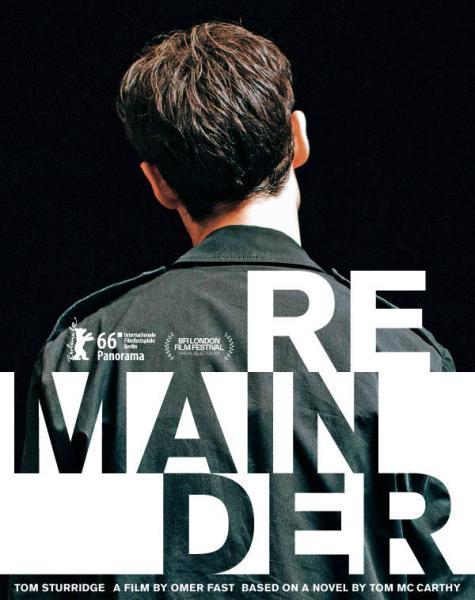 Remainder movie poster