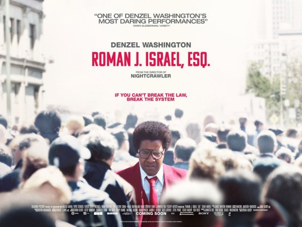 Roman J Israel Esq UK Banner Poster