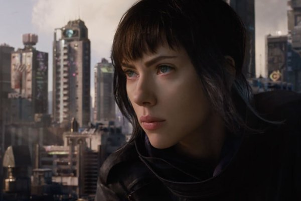 Ghost in the Shell movie starring Scarlett Johansson - 2017