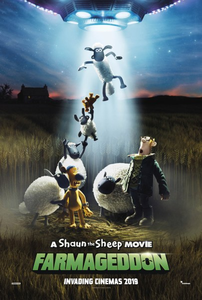 Shaun The Sheep 2 Farmageddon Movie Poster