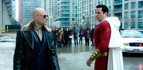 Shazam Zachary Levy And Mark Strong