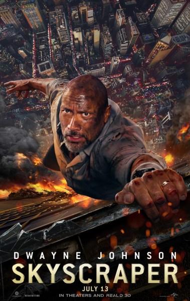 Skyscraper New Film Poster