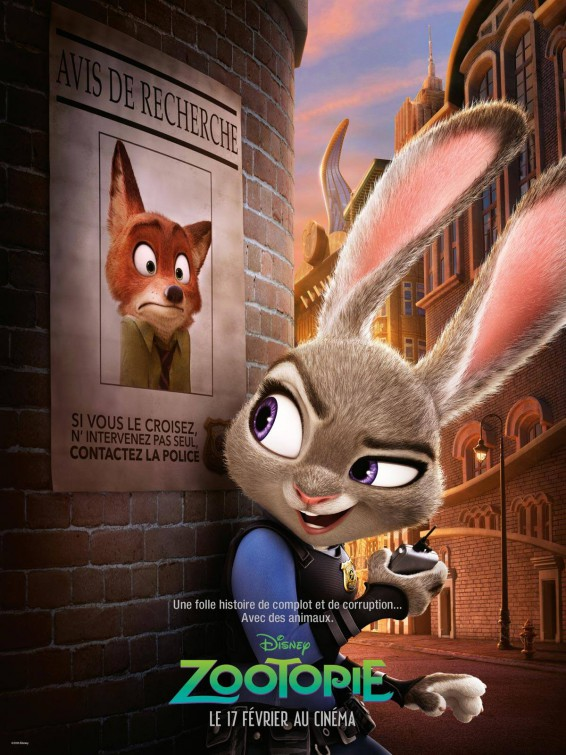 Zootopia French Poster Teaser Trailer