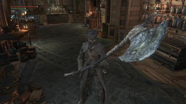 両手持ち 武器 Bloodborne ブラッドボーン