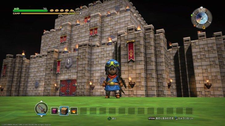 【DQB】4章でラダトーム城つくりました【ドラゴンクエストビルダーズ】