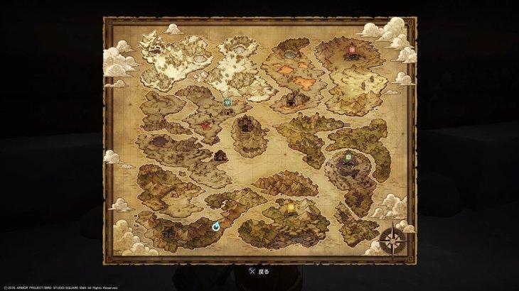 【DQB】世界地図を洞窟でみつけた【ドラゴンクエストビルダーズ】