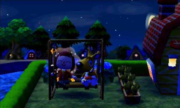 夜 どうぶつの森ハッピーホームデザイナー