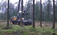 木材伐採専用重機が近未来的でロマンの塊だと話題に