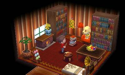キャラメルの部屋 どうぶつの森ハッピーホームデザイナー