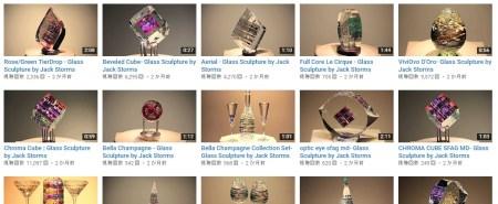 ガラスアート-youtube