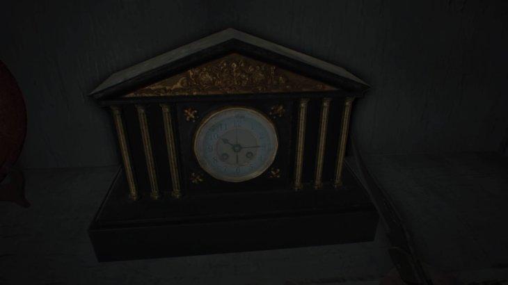 【バイオハザード7】赤い基盤取る時の時計の時間ってどこでわかるの?