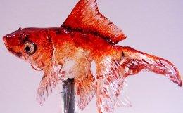 飴細工 金魚