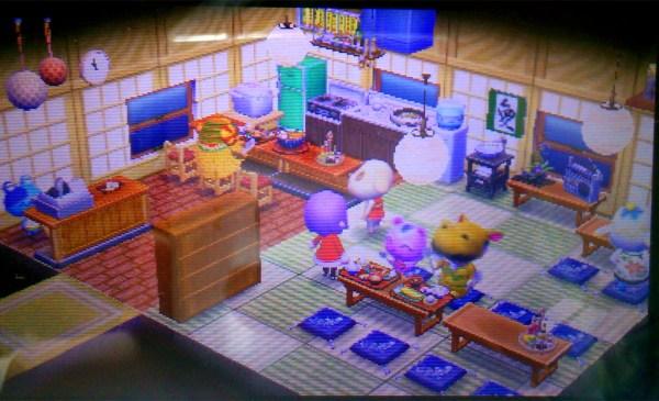 定食屋 どうぶつの森ハッピーホームデザイナー