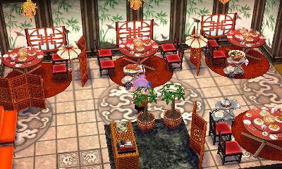 中華料理屋 どうぶつの森ハッピーホームデザイナー