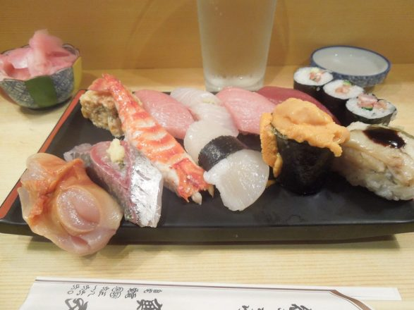 BEST SUSHI EVER!