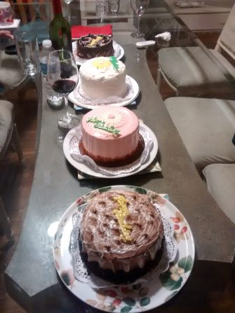When you turn 80, you get 4 cakes