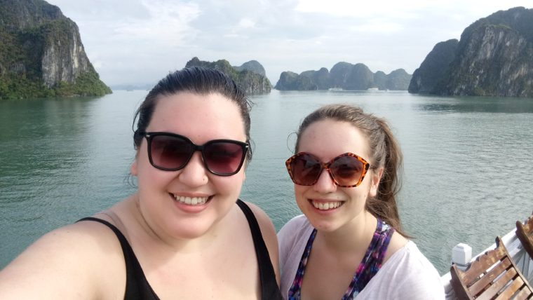Cruising Halong Bay