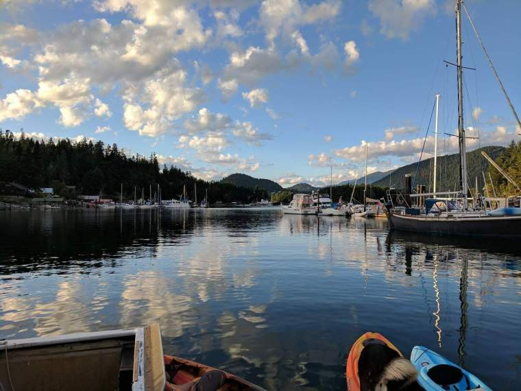 A Family Weekend At Pender Harbour