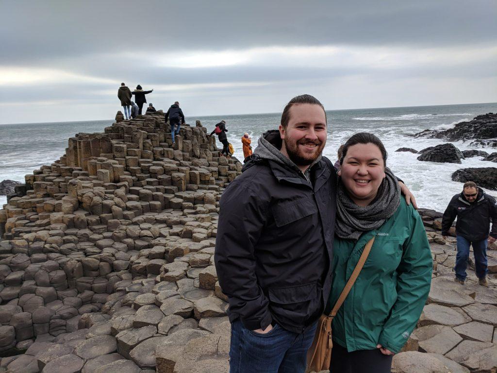 first trip to Ireland - Giants Causeway