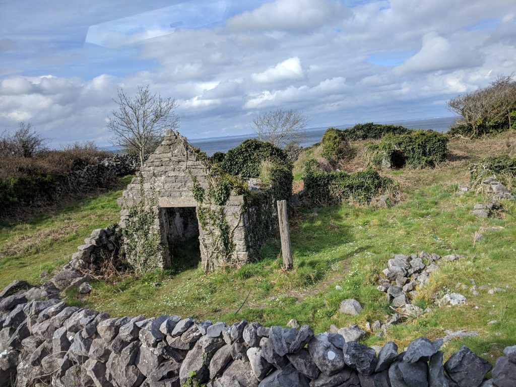 first trip to Ireland - countryside