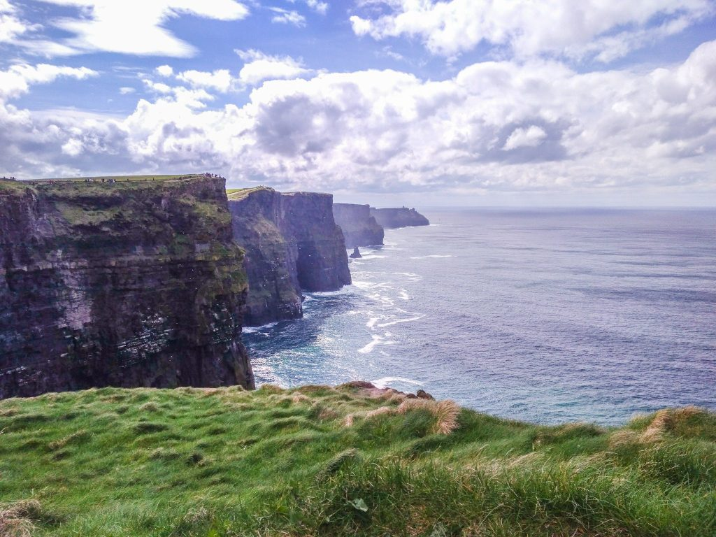 Cliffs of Moher outside of Galway, Ireland
