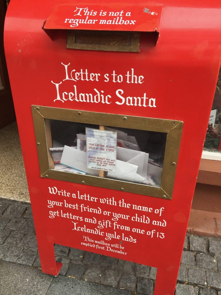 Beat the post travel blues by sending yourself from snail mail - like a letter from Icelandic Santa!