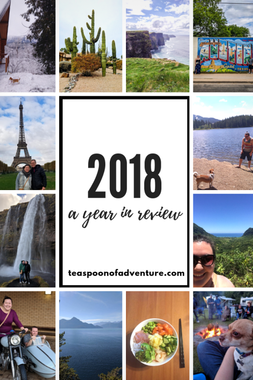Can you believe 2018 is over? It was a year of lots of little ups and downs. How was 2018 for you? #2018 #travel #newyear