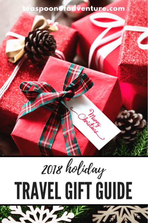 Everything a traveller is asking Santa to bring them this Christmas! Check out my 2018 travel holiday gift guide! #travel #giftguide