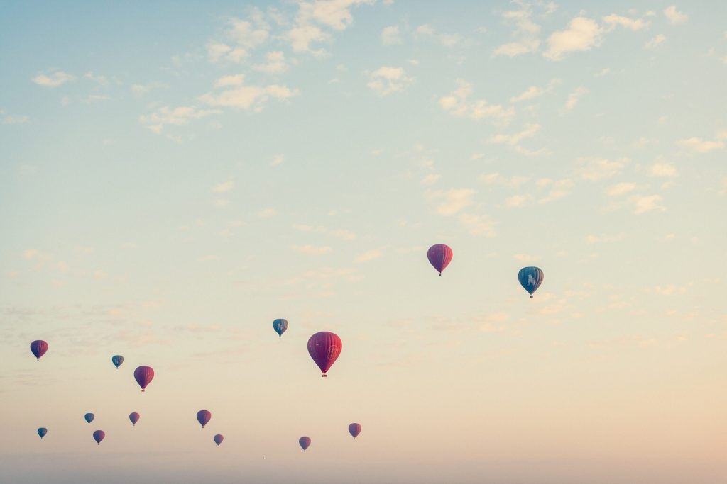 Hot air balloons - Too many travel blogs?