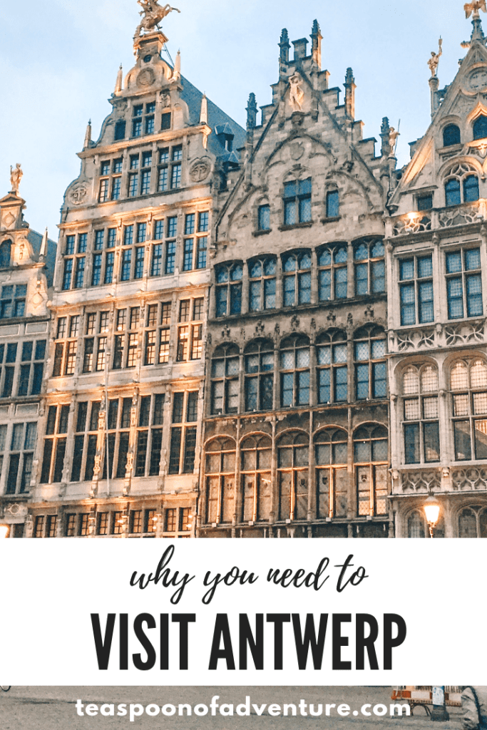 Antwerp might not be at the top of your travel bucket list. But maybe this little Belgian town should be! Check out 35 photos that will convince you to visit Antwerp! #antwerp #belgium #travel