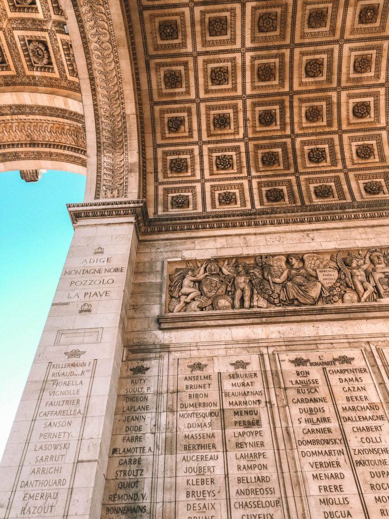Arc de Triomphe in Paris - 2 days in Paris
