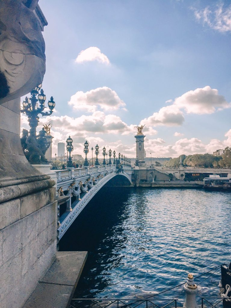 Pont Alexandre III in Paris - 2 days in Paris itinerary