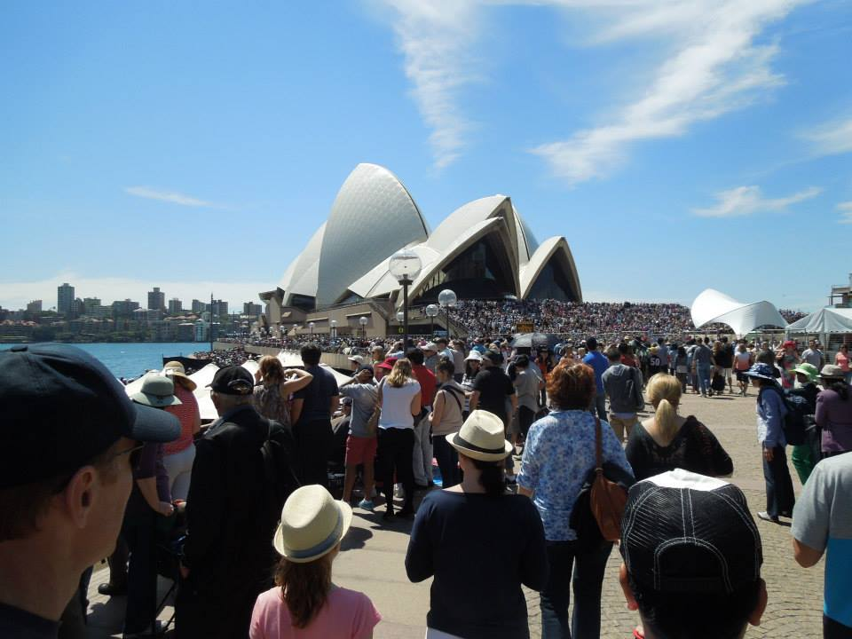 Sydney Opera House - definitely not off the beaten path