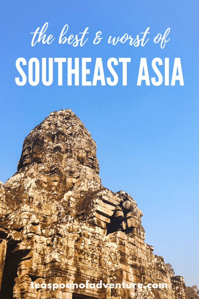 The best and worst of Southeast Asia. Check out our favourite meals, best hotels, worst temples and more! #southeastasia #travel #traveltips