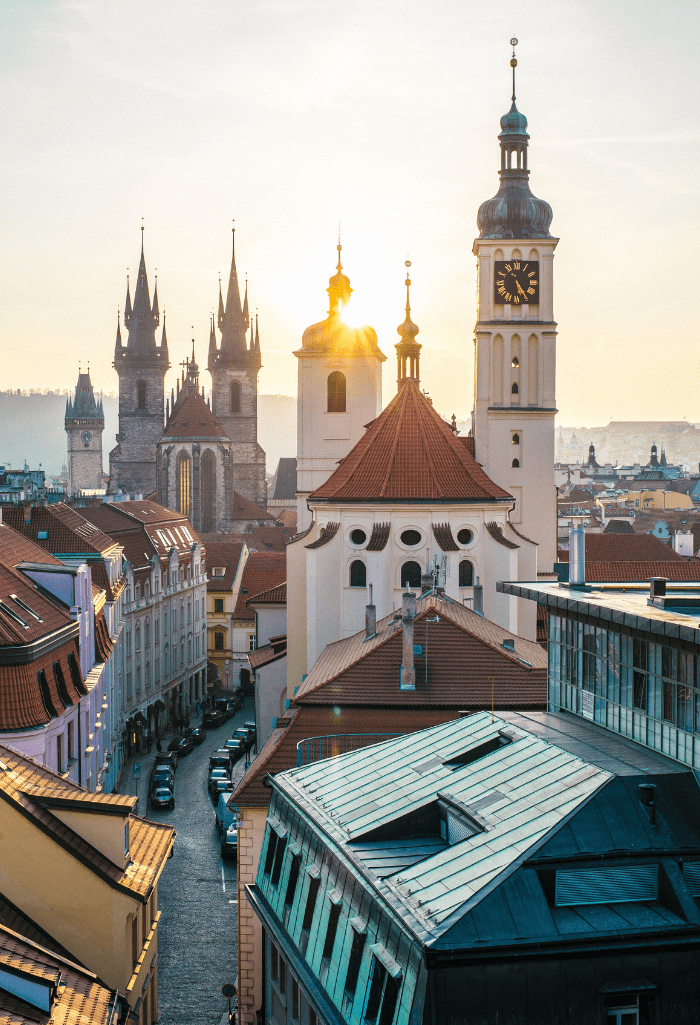 Guess What? We're Moving to Prague!