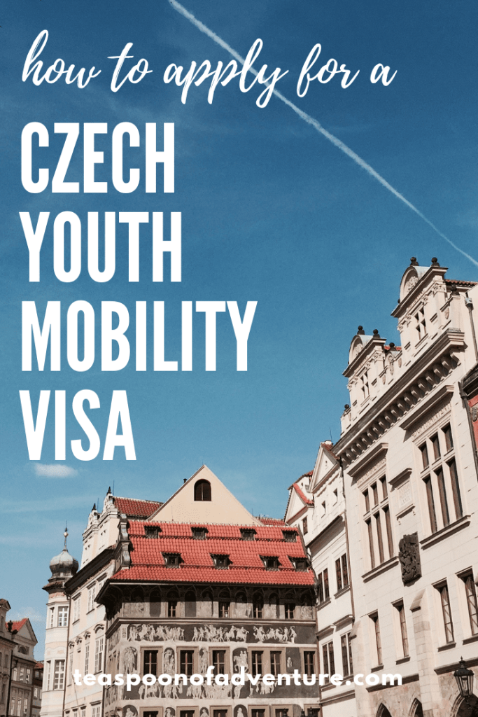 Everything you need to know about how, when and what you need to apply for a Czech Youth Mobility Visa or Working Holiday Visa for the Czech Republic. #prague #czechrepublic #travel