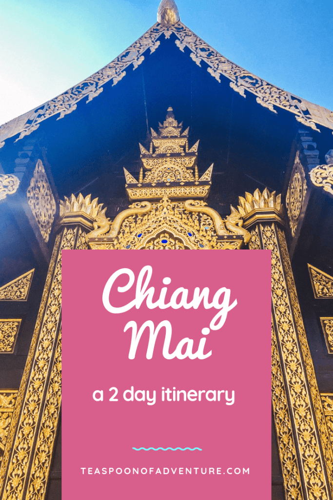 Your perfect itinerary for 2 days in Chiang Mai, Thailand! #chiangmai #thailand #travel #traveltips