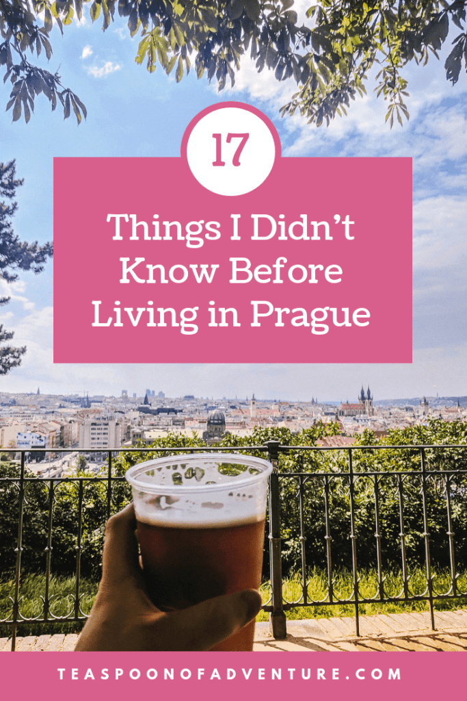 Check out 17 things I didn't know before living in Prague. Turns out, Prague is full of some surprises! #prague #travel #traveltips #expat